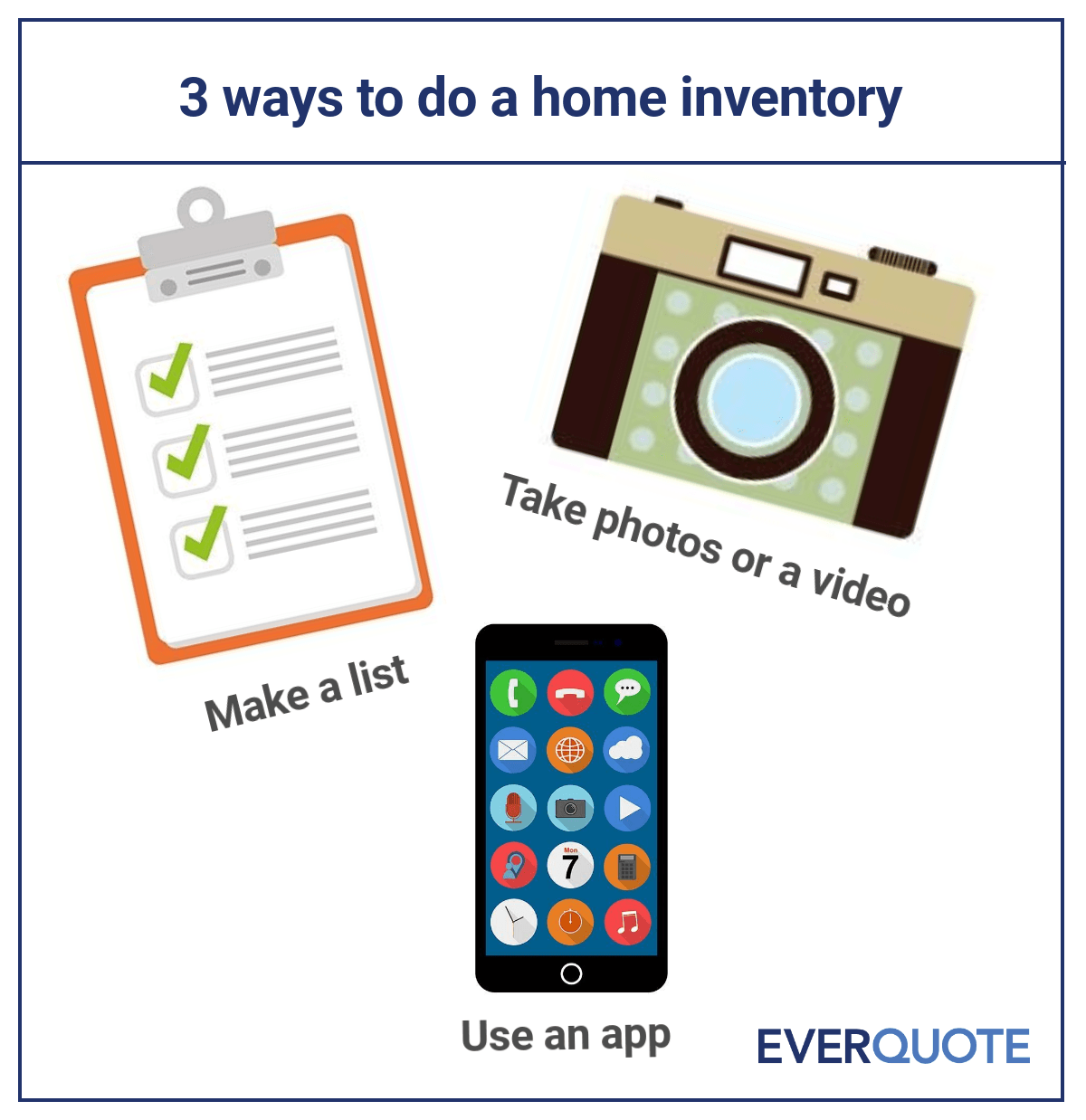 3 ways to do a home inventory