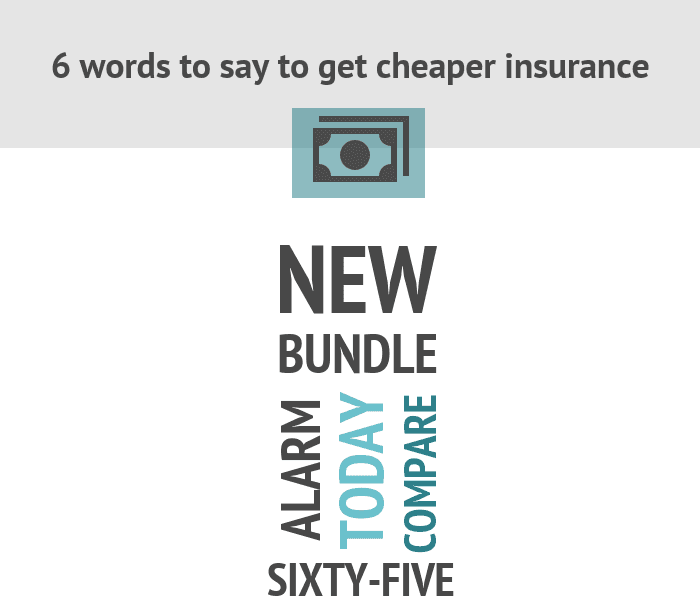 6 words to say to get cheaper insurance