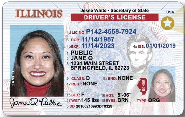 Illinois Drivers License Id Renewal And Replacement
