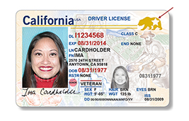 REAL ID license