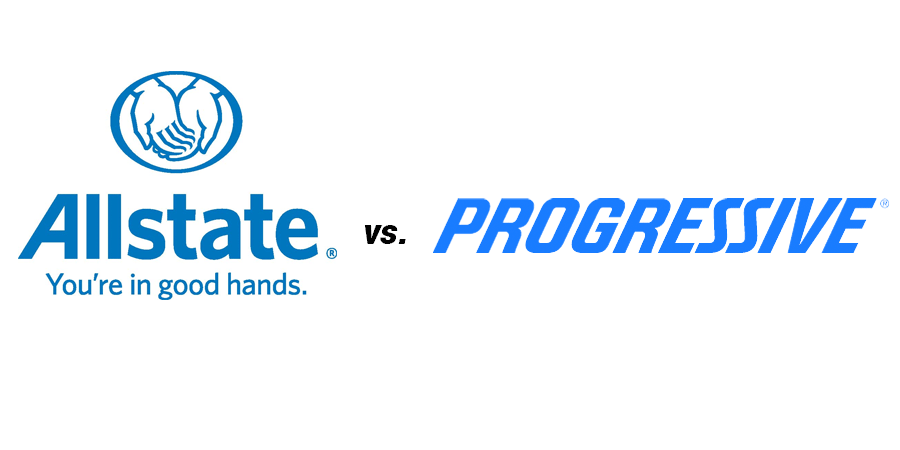 Allstate Auto Insurance Quote Fair Allstate Vs Progressive Auto Insurance  Everquote