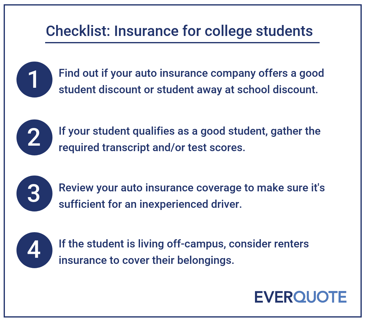 Get Comprehensive Car Insurance Quote: Car Insurance For College Students