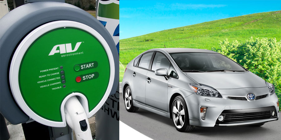 electric car charger, ev