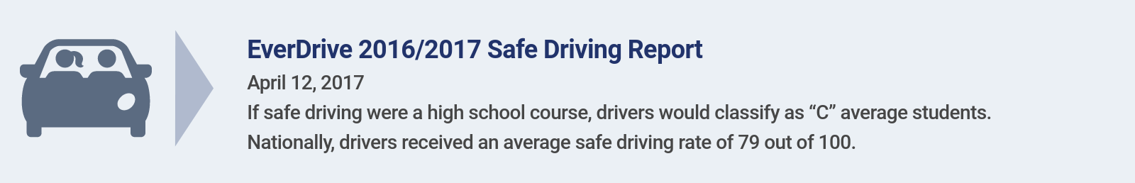 EverDrive Safe Driving Report
