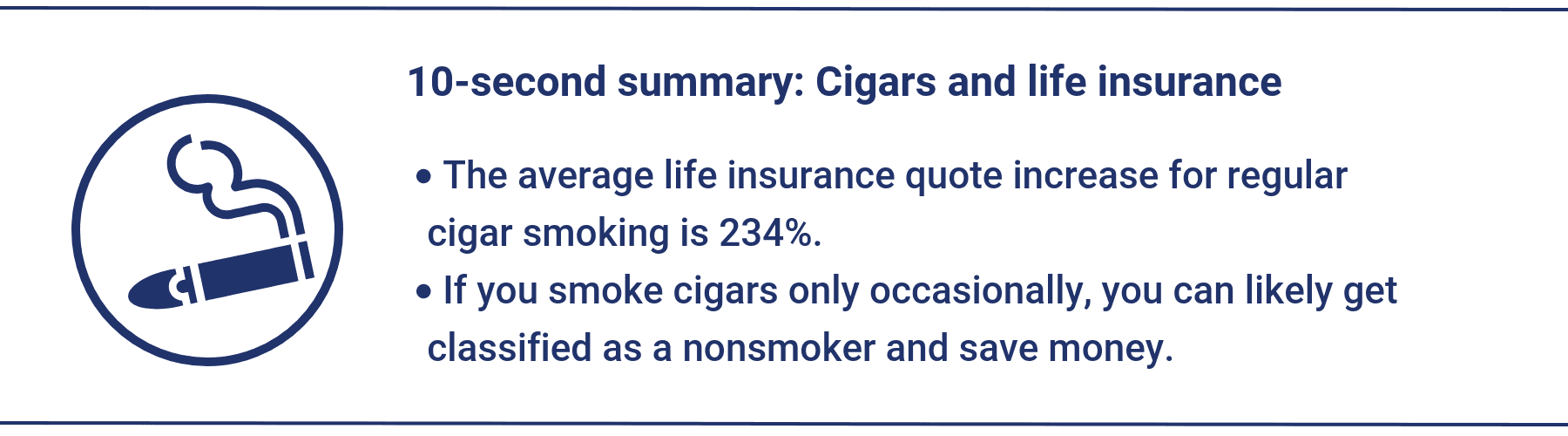 Best Life Insurance >> The Best Life Insurance For Cigar Smokers