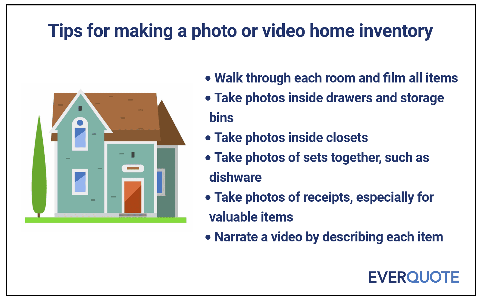 Home inventory tips