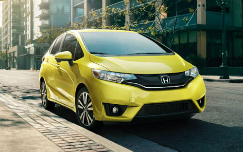 honda fit 2015 yellow