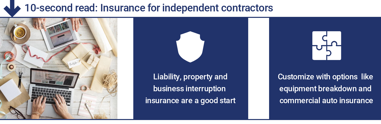 Independent Contractor Insurance: Make it Your Own