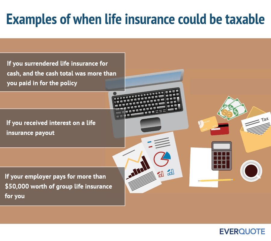 Situations where life insurance could be taxable