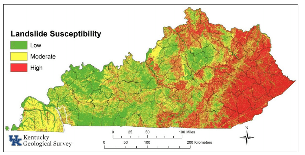 Kentucky landslides