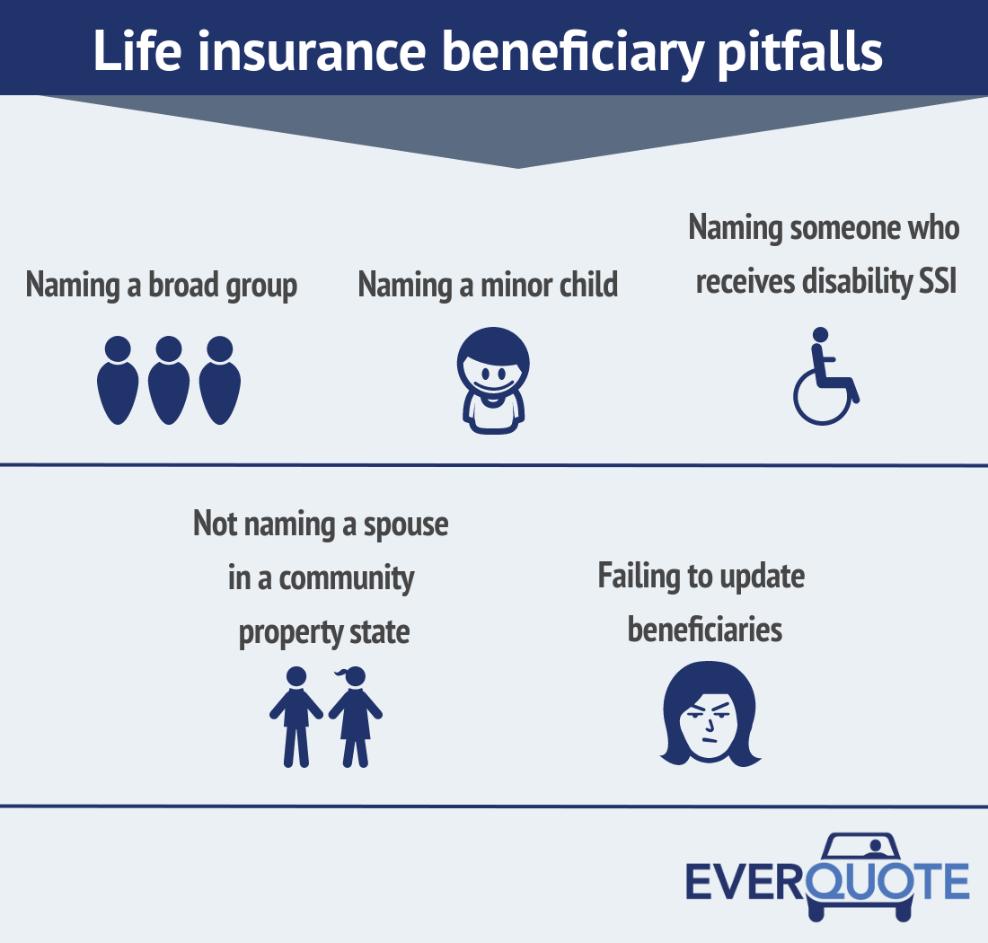 Life insurance beneficiary pitfalls