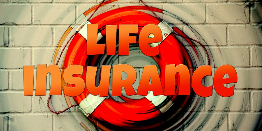life insurance text life preserver