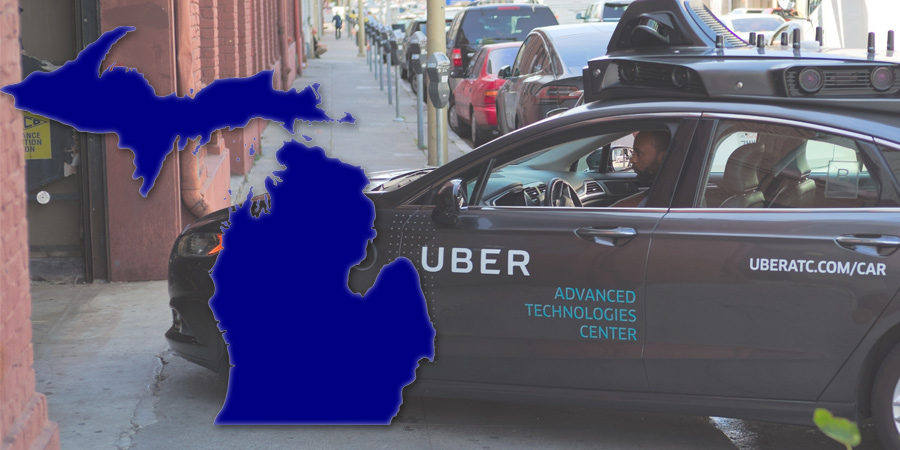 Michigan self driving car