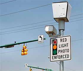 red light camera - red light photo enforced