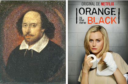 shakespeare and piper from orange is the new black