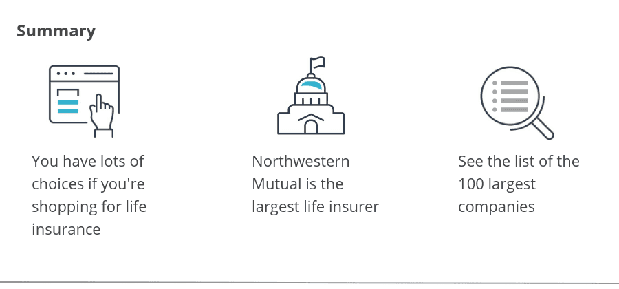 Top Ten Life Insurance Companies >> The 100 Largest Life Insurance Companies
