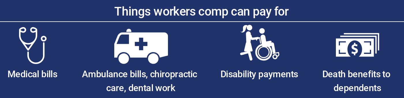 Things workers compensation can pay for