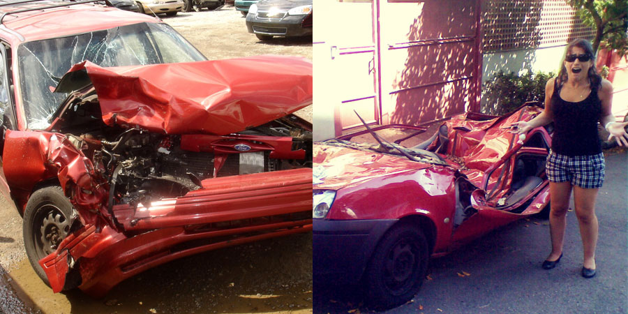 totaled cars