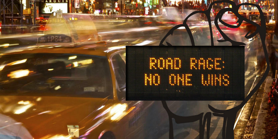road rage - no one wins