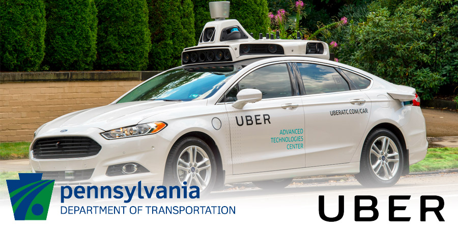uber penndot self driving car